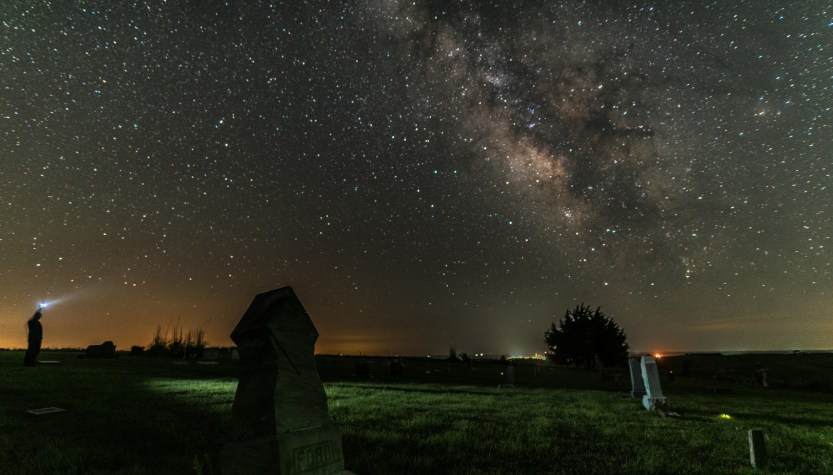 Mount Olive Milky Way by Allen Irby