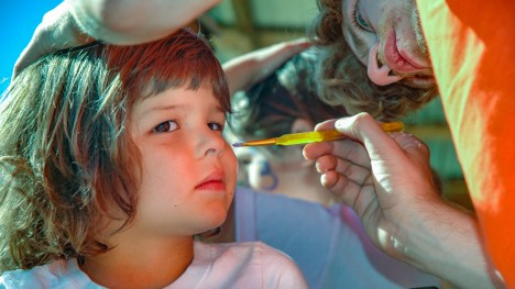 Allen Irby - Face Painting at the Fair