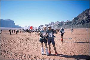 Stefan (131) i Artur (150) tuż przed startem, fot. Stefan Stefański