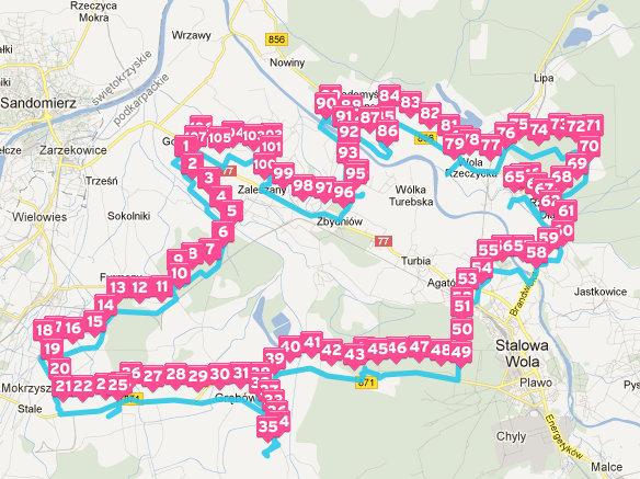 mapa RDS 2013