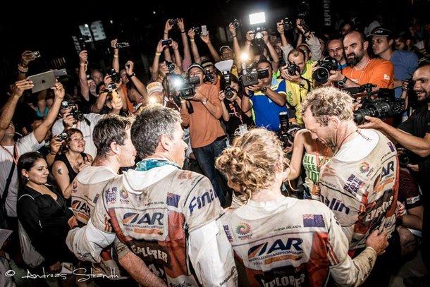 W Ekwadorze startowali dzierżąc pozycję lidera w rankingu ARWS, mieli w tym roku dwa duże zwycięstwa w rajdach ekspedycyjnych, wreszcie skompletowali ekipę z największą ilością tytułów mistrzowskich. Efekt? Tytuł mistrza dla Seagate! Foto. Andreas Strandh
