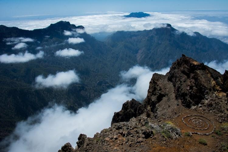 Powalające widoki z okolic Roque de los Muchachos. Fot. Andrzej Olszanowski