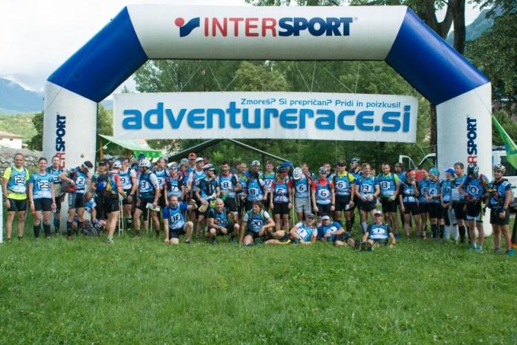 Adventure Race Slovenia 2016. Start! Fot. Materiały organizatora