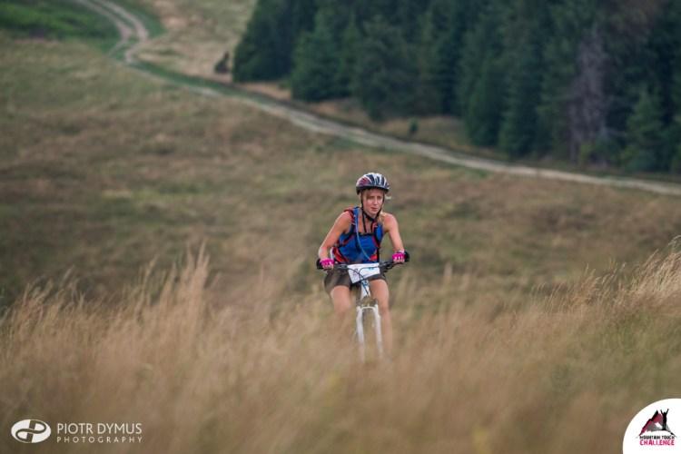 Etap rowerowy na Mountain Touch Challenge. Fot. Piotr Dymus