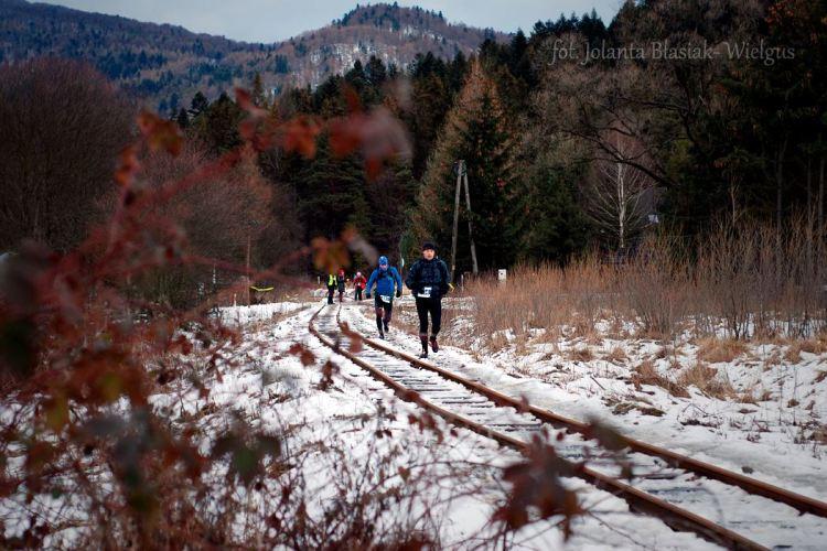 Zimowy Maraton Bieszczadzki. Fot. Jolanta Błasiak-Wielgus