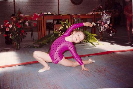 Maleńka Viola w wieku 6 lat. Fot. Archiwum Violi