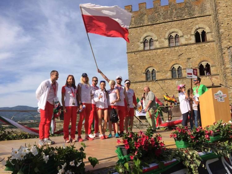 Reprezentacja Polski na MŚ w Trailu. Fot. Przemek Ząbecki