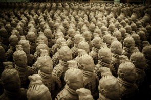 November 2008 The Terracotta Army, Lintong District, Xi'an, Shaanxi province, China