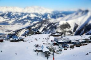 December 2012 Kitzsteinhorn Alpincenter, Kaprun, Austria