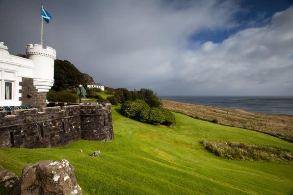 September 2012 Flodigarry Country House Hotel, Isle of Skye, Scotland, UK