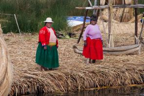 November 2006 Uros Islands, Titicaca Lake, Puno, Peru