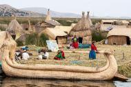 November 2006 Uros Islands, Titicaca Lake, Puno, Peru