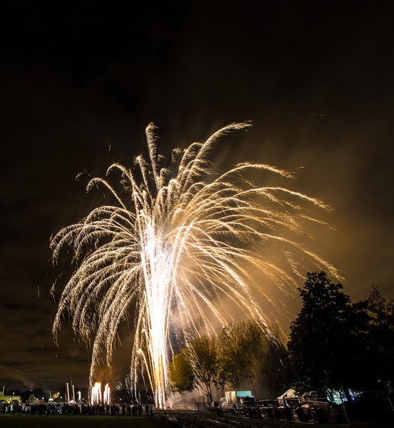 November 2012 Millwall Park Fireworks, London, UK