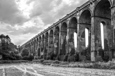 August 2012 Ouse Valley Viaduct, north of Haywards Heath and south of Balcombe, UK