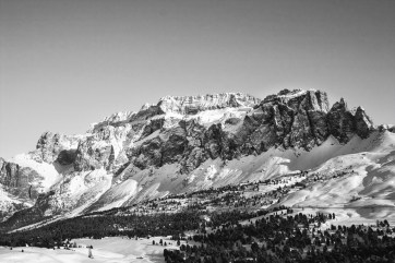 January 2006 Dolomites, Italy