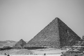 August 2005 The Great Pyramids of Giza, El Giza, Cairo, Egypt