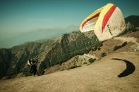 November 2007 Paragliding in Bir Billing, Himachal Pradesh, India