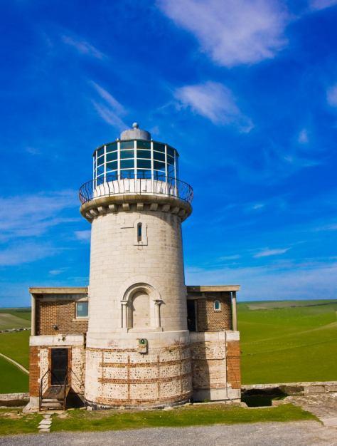 April 2008 Lighthouse, Birling Gap, Seven Sisters, UK