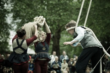 June 2013 Greenwich+Docklands International Festival, Island Gardens, Isle of Dogs, London, UK