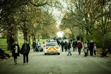 December 2013 Regent's Park, London, UK