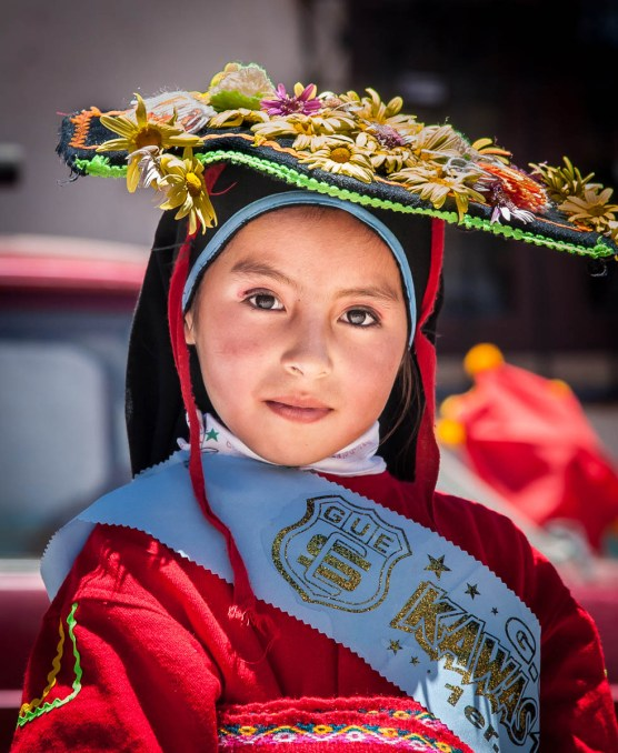 October 2006 Festival in Puno, Titicaca Lake, Peru, South America