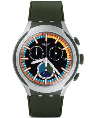 October, 2015, Swatch Collection, YYS4009, Moss, swatch.com