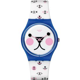 October, 2015, Swatch Collection, GN241, Cattitude, swatch.com