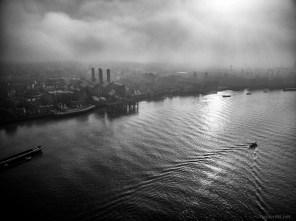 November 2015, River Thames, Greenwich, London, UK