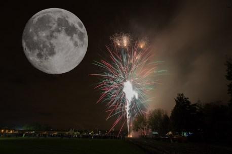 November 2016, Fake Super Moon