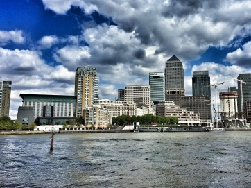 April 2017, Thames Path from Canary Wharf to Westminster Bridge and back.