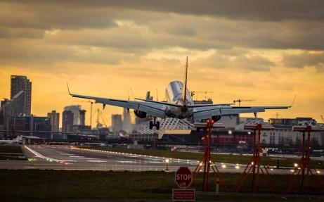 November 2017, London City Airport, Docklands, London, UK