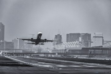 February 2018, London City Airport, London, UK