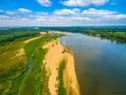July 2018, Vistula River, Warsaw, Poland