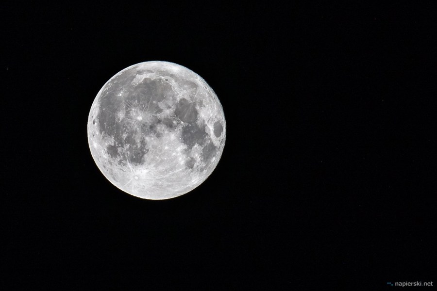 August 2018, Full Moon, Poland