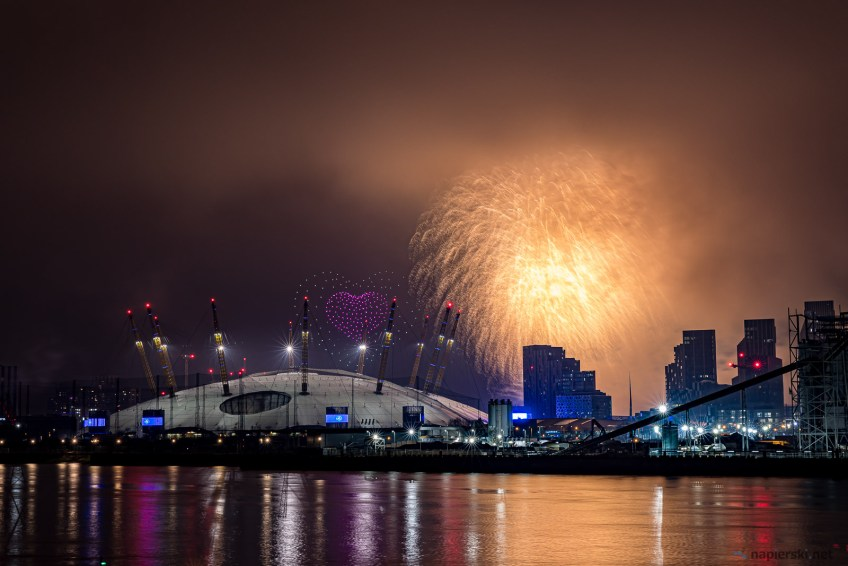 January 2021, Isle of Dogs, London, UK