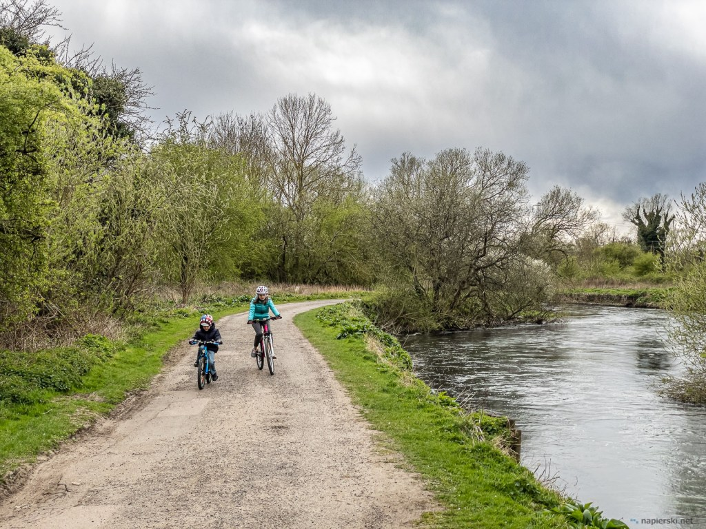 April 2021, Lea Valley cycling, Greater London, UK