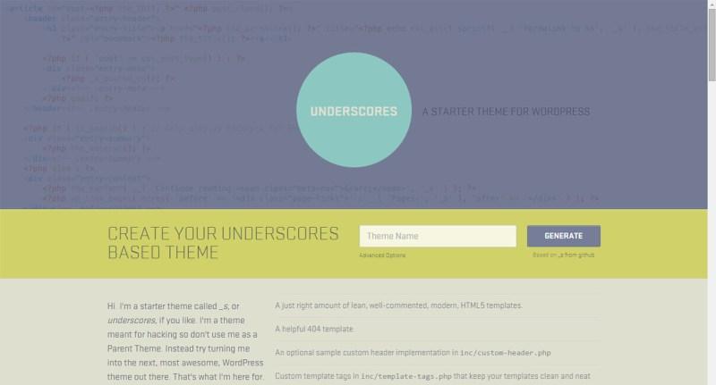 underscores-framework