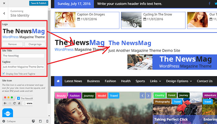 site-title-and-logo-the-newsmag