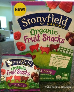 Stonyfield Organic Fruit Snacks
