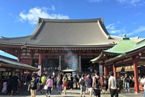 senso-ji temple asakusa tokyo japan
