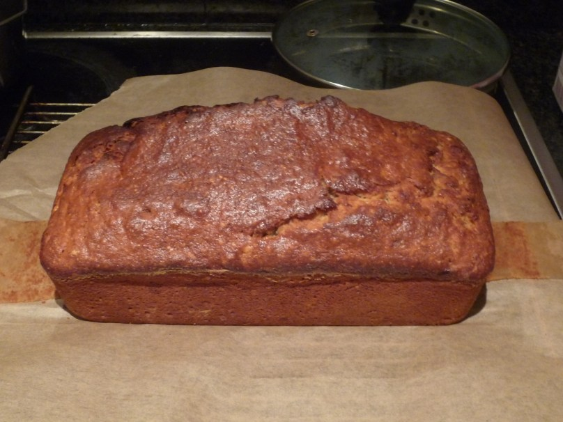Banana bread just out the oven.
