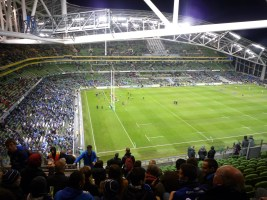 Our first look at the inside of the Aviva!