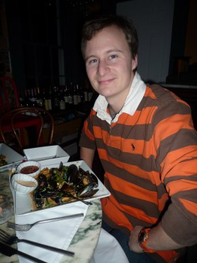 J and his moules marinières