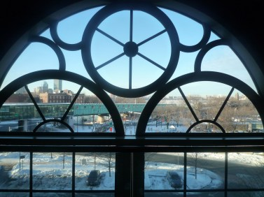 View from the original prison windows.