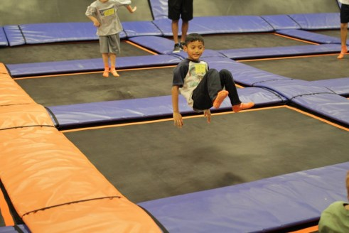 Our Naples After School Kids Bouncing and Backflipping at Sky Zone Fort myers