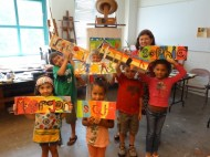 Creative Little Monsters with ARTScool instructor Mary Hensel