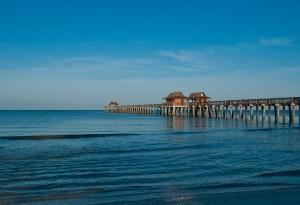 Naples Pier, Naples, Florida   photo by David Critzer