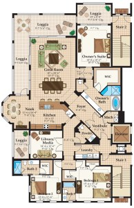 Talis Park Naples Florida new construction condos floor plan residence 1