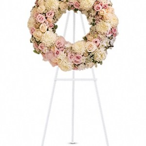 Peaceful Sentiments Wreath