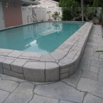 Power Washed Stone Pool